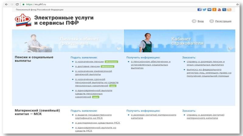 Пенсионный фонд личный кабинет регистрация псков как получить вычет на накопительную часть пенсии налоговый